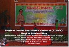"""Tari """"Mamosok"""" di Festival Lomba Seni Siswa Nasional, FLS2N TIngkat Provinsi Riau (2)"""