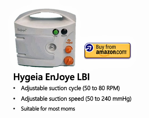 Hygeia EnJoyle LBI Double Electric Breast Pump Ratings.jpg