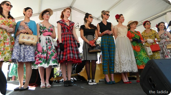 Fifties Fair Best Dressed Female All