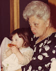 My Grandma Chansie and I at a family Christening.