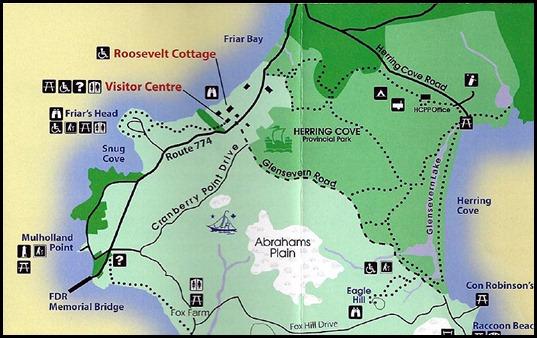 00 - Friar's Head Hike Map