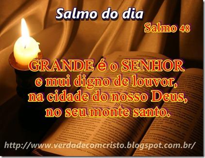 SALMO DO DIA 48
