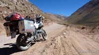220 km Schotterpass liegen vor uns
