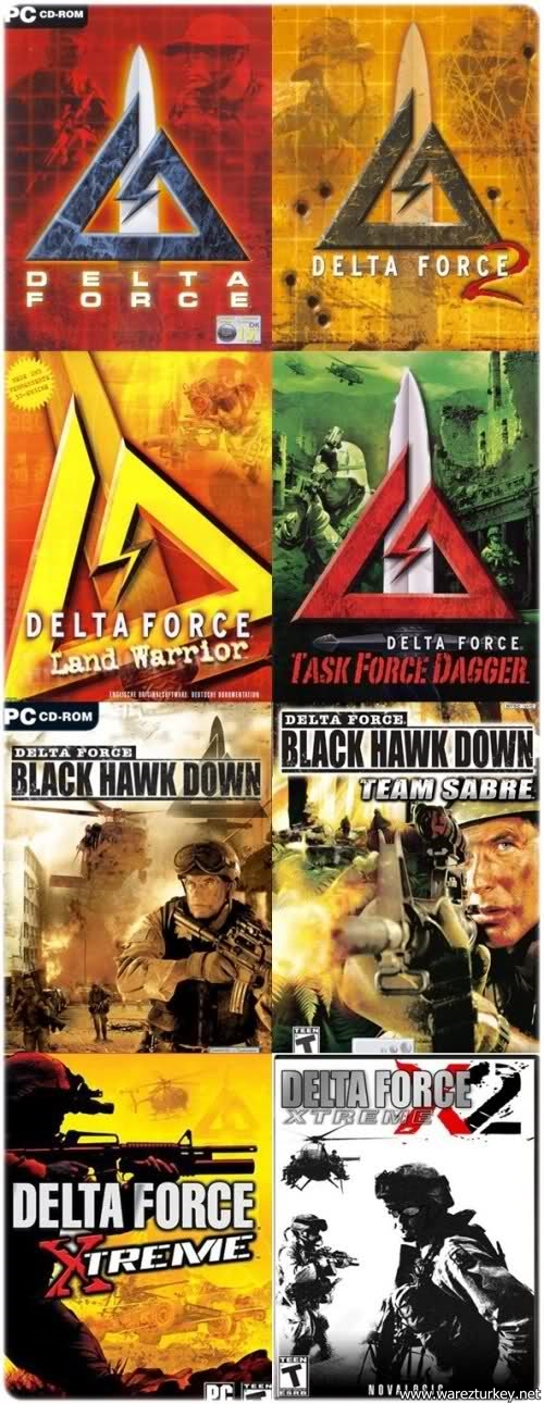 Delta Force Serisi - Delta Force Games Collection (8in1) full