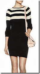 T by Alexander Wang Stripe Knit Dress