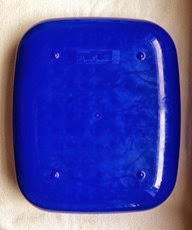 Blue Dish Doctor by Mark Newson for Magis, bottom