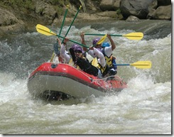 outbound rafting caringin