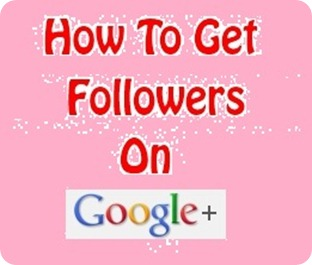 howtoget1000followersongoogleplus