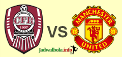 Cluj vs Manchester United
