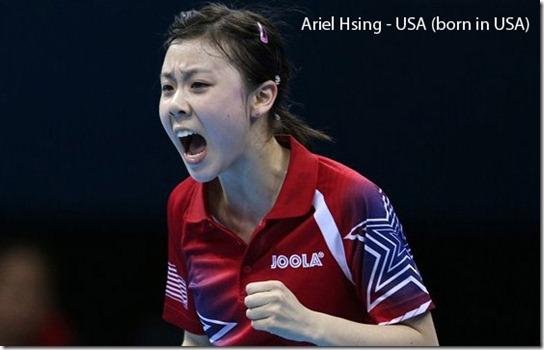 Ariel Hsing - USA
