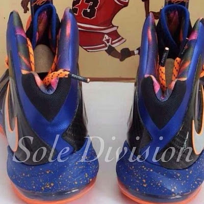 nike lebron 10 ss elite blue black 2 02 Another Teaser Showing Nike LeBron X P.S. Elite in Knicks Colors