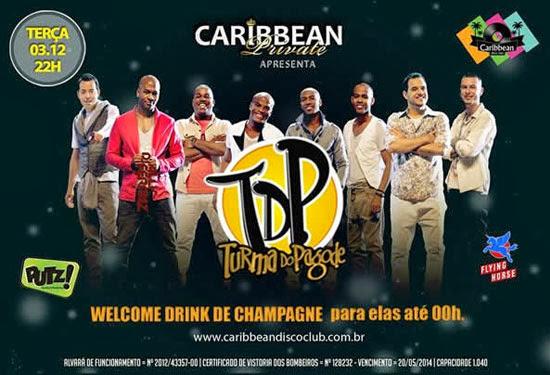 Turma do Pagode na Caribbean Disco Club