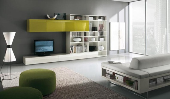 white-and-green-tv-wall-mount