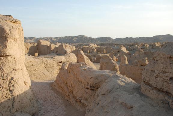 Turfan - Ruines de Jiaohe 24