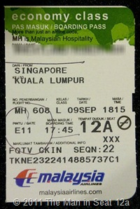 Boarding Pass 12a