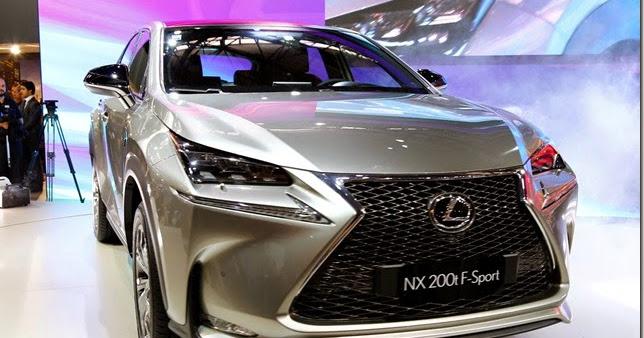 Salão de São Paulo – Lexus lança NX 200t