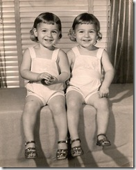 Mary Ellen  and Margaret    2yrs.