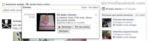 Cómo organizar mi lista de eventos en Facebook