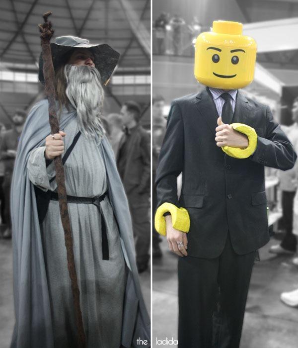 Supanova Sydney 2013 Cosplay -  Gandalf, Lego Man