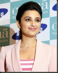 Parineeti Chopra launches Samsung Galaxy S III Photos