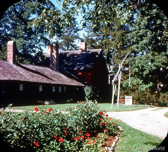 View-Master Connecticut (A750), Scene 14: Nathan Hale's birthplace, Coventry