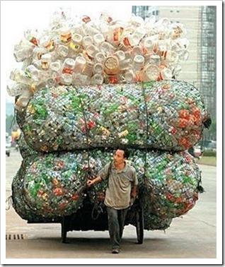 Reciclagem - catador de pet