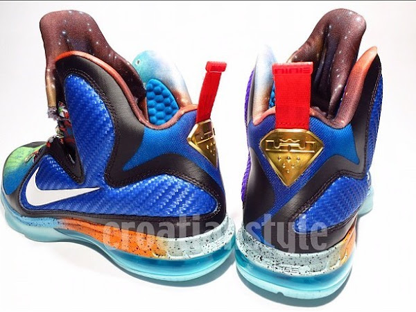 Detailed Look at Nike LeBron 9 8220What the LeBron8221 PE