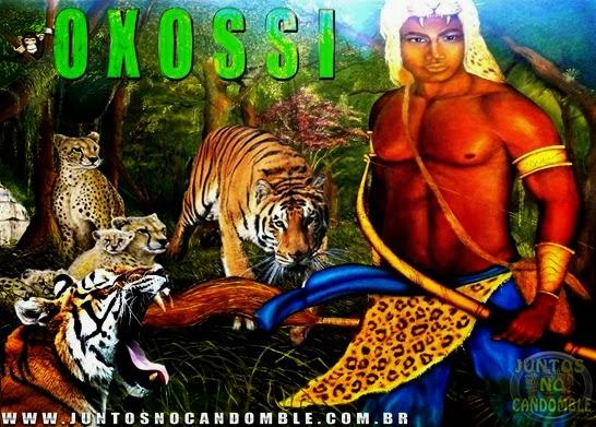 Orixa Oxossi - Ode - caçador - Ososi - ibo - inle - fibo - arole - aro -