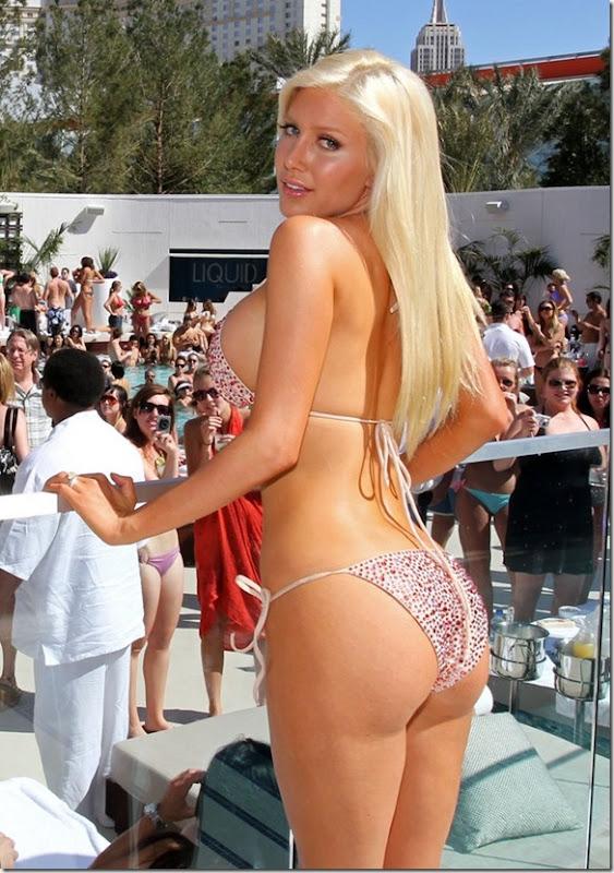 sexy heidi montag bikini 6