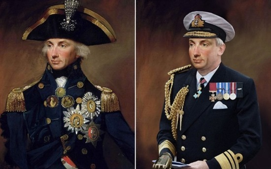 ADMIRAL LORD NELSON<br />Admiral Lord Nelson has been magically transported to the 21st Century via a unique art project commissioned by TV channel Yesterday to celebrate its new historical series Secret Life OfÉ. starting on Thursday 2nd May at 9pm. <br />A team of digital artists from the channel spent three months updating a series of classic portraits - working closely with award-winning historian Dr Suzannah Lipscomb to ensure the new artworks accurately reflect how the historical figures might look in 2013<br />Adrian Wills, General Manager of Yesterday commented:<br />ÔSecret Life OfÉ takes a completely new perspective on the lives on some of historyÕs most fascinating and notorious figures. Henry VIII, Elizabeth I, Shakespeare, Marie Antoinette and Nelson are among the iconic personalities whose lifestyles and habits are dissected through the eyes of the contemporary, celebrity-obsessed world.  These great characters are reimagined with a modern take, showing them in a completely different light - much like the new re-versioned portraits.Õ