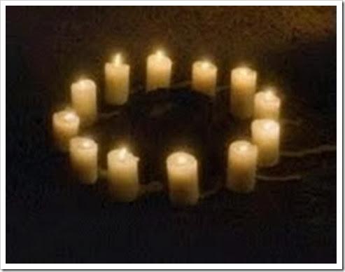 circulo de velas