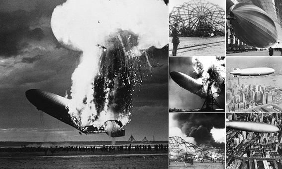 """Просмотр альбома """"Крушение дирижабля Гинденбург, 1937"""""""