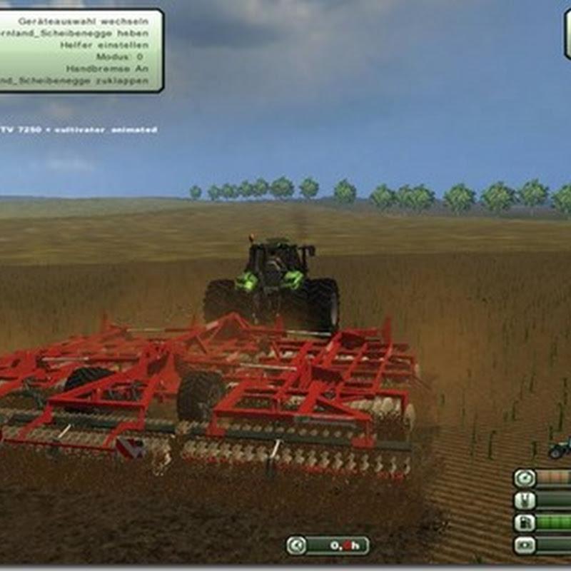 Farming simulator 2013 - Kverneland Disc v 1.1