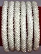 rollover bracelet white