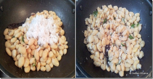 Mochakottai Val beans butter beans sundal recipe