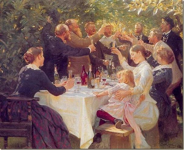 Peder Severin Krøyer, Hip ,hip ,hurrah