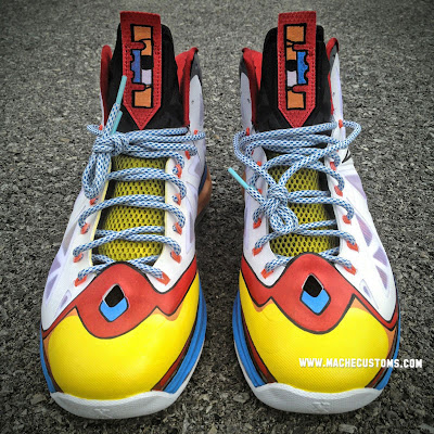 nike lebron 10 cs mache stewie 1 05 New Nike LeBron X Stewie Custom Designed by Mache