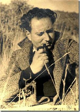 Jean Giono ritratto da Kardas (part.,coll. privata)
