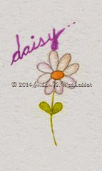 Water colour Daisy