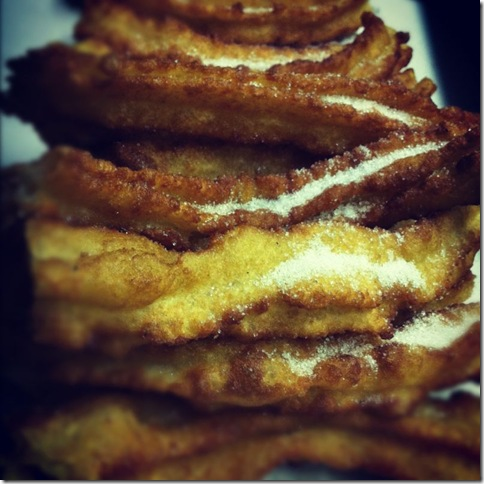 Churros con chocolate ElCuadernodePili