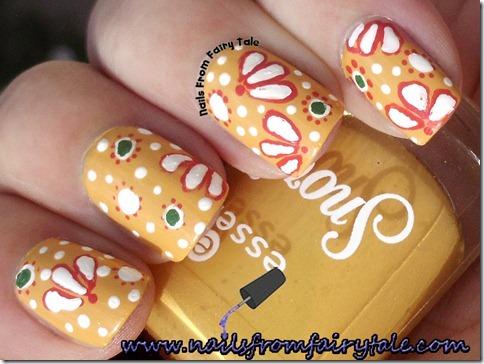 vintage nail art 4
