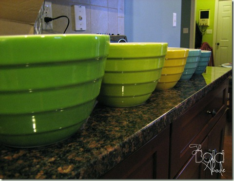 Bowls on Counter