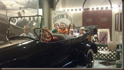 Henry Ford Museum in Car