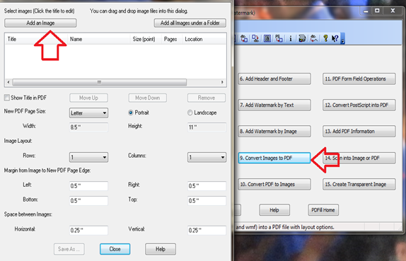 แปลงไฟล์รุปภาพเป็น pdf