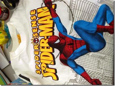 Spiderman kid shirt
