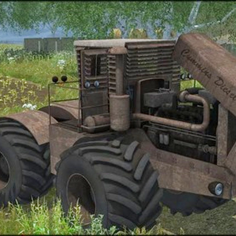 Farming simulator 2013 - MrFox Customs Tractor v 1.0 MR