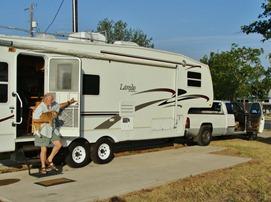 Depart Bastrop Campground