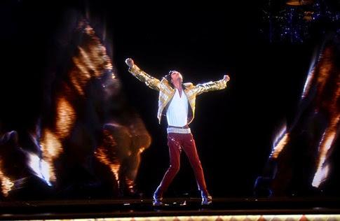 """El histórico """"regreso"""" de Michael Jackson en los Billboard 2014"""