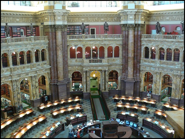 Library of Congress, Washington, DC, Etats-Unis -3