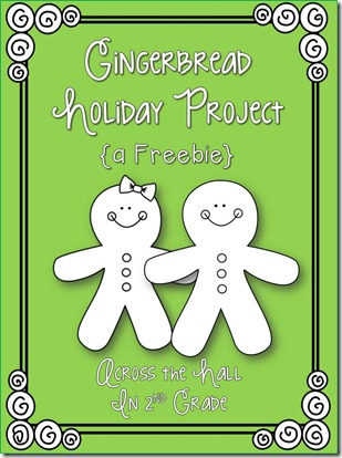 gingerbread project cover